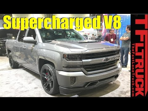 Supercharged V8 Chevy Silverado 1500 Concept: Should They Build It?