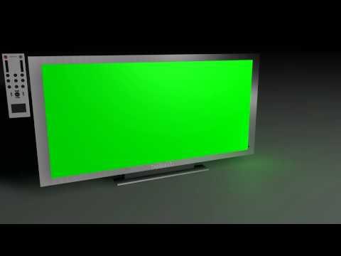 Cinema 4d Free Plasma Tv Template