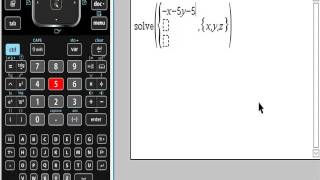 Solving equations with TI-Nspire (nSolve) - PakVim net HD