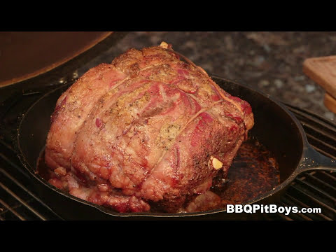 Beef Rib Roast by the BBQ Pit Boys