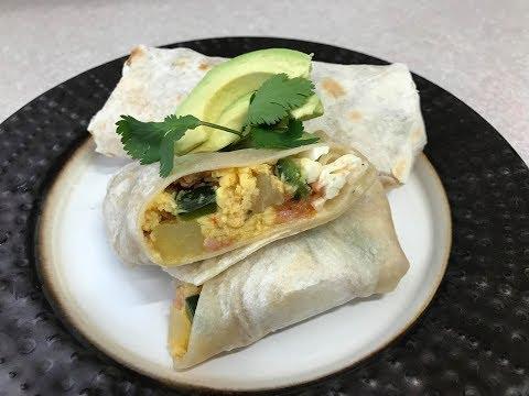 Breakfast Burrito DESAYUNO 🔴☺️👌🏼