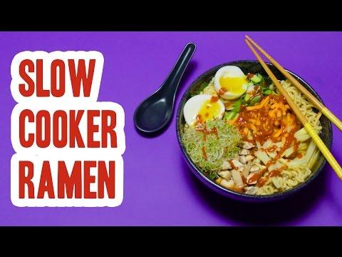 Slow Cooker Ramen