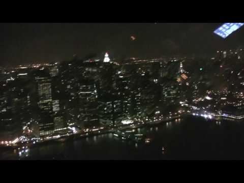 From Newark Airport to Manhattan, by helicopter