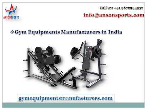 Gym equipment's Manufacturers in Chennai