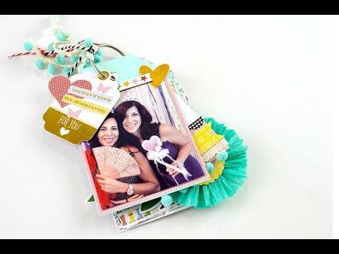 Mini tag booklet- Make a Pretty Life kit.