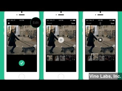 Vine Adds New Features to Rearrange Clips, Save Drafts