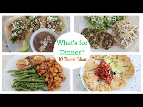 What's for Dinner? | 10 Dinner Ideas | What I Cook My Family For Dinner