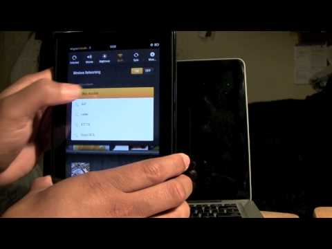 Kindle Fire - How to Connect to Wifi | H2TechVideos