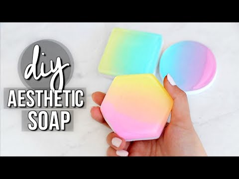 DIY Aesthetic Soap (Ombre/Gradient Soap) | JENerationDIY
