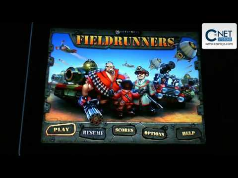 iPad and The Fieldrunners App a Game for the Apple iPad