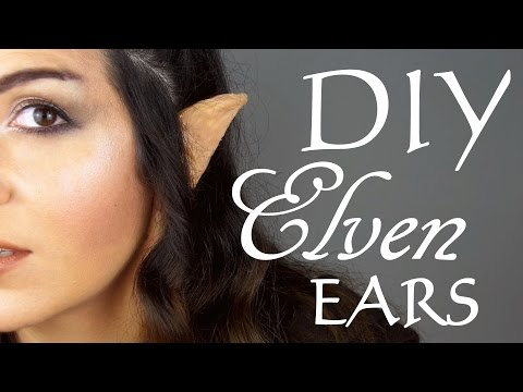 DIY: How to make Elven/Elf Ears
