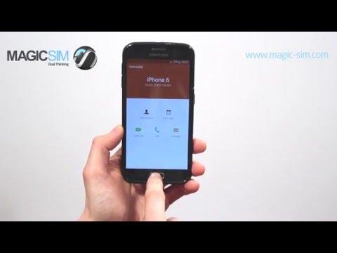 Samsung Galaxy S6 (SM-G920)  - Dual SIM Adapter - MAGICSIM ELITE- GALAXY S6