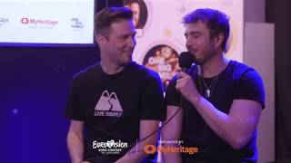 Live from TLV! Darude and Sebastian Discover Who is More Finnish