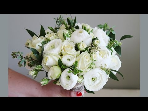 Country Style Bridal Bouquet - White - Hardys Flowers