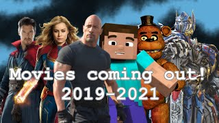 Download Movies coming out in 2019 to 2021 (warning headphone users) Video