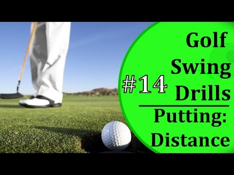 Simple Golf Swing Drills - #14 Putting Distance Drill | Learn-To-Golf.com