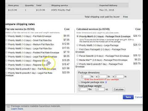 How To Select Cheapest Shipping For eBay Sales