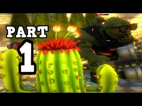 Plants vs. Zombies Garden Warfare Multiplayer Gameplay - Garden Ops part 1