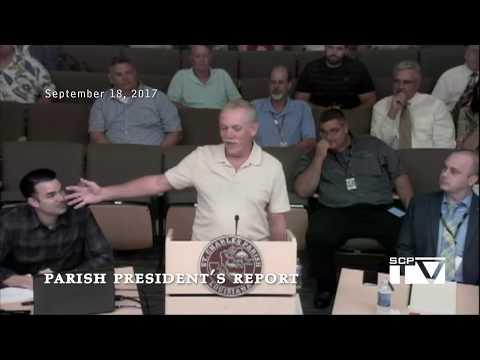 Parish President's Report for September 18, 2017