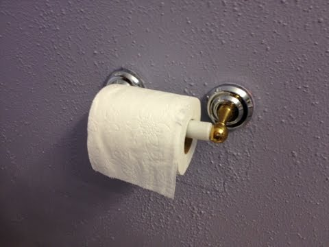 How to Fix a Toilet Paper Holder