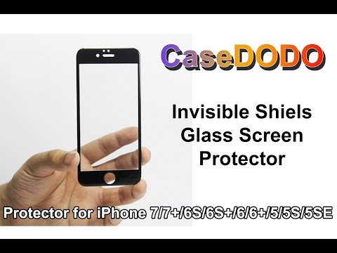 Screen protector Glass : CaseDODO Invisible Shield 2 - Review!