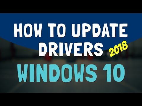 How To Update Drivers For Windows 10