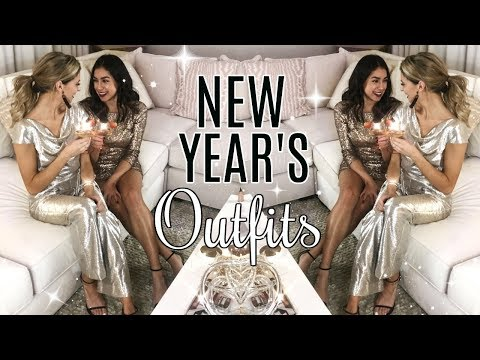 New Year's Outfit Ideas ft. Jeanine Amapola!