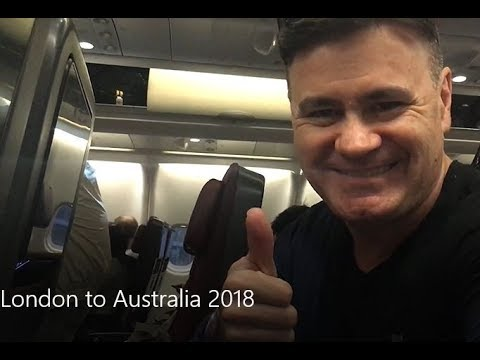 How to fly from London to Australia