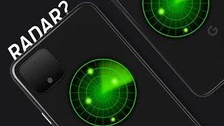 The Pixel 4 has.. radar?