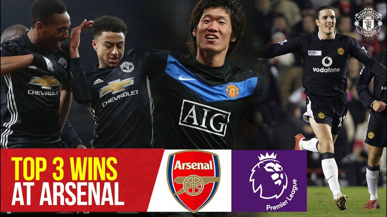 Top 3 Premier League Wins At Arsenal | Arsenal v Manchester United | Bitesize Boxset