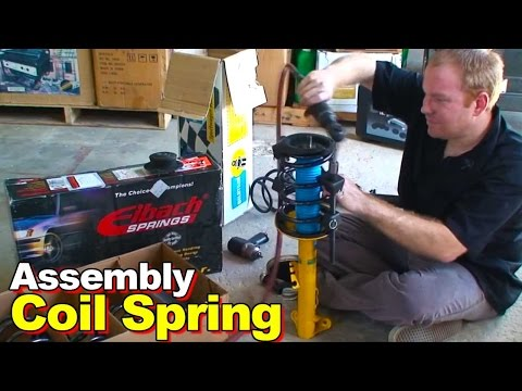 How To Assemble A Replacement Strut And Coil Spring Assembly