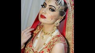 Regal Bridal look