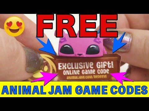 🙃Free Animal Jam Game Codes 🎉 Opening Squinkies Squashies- KIMYOKITTEN