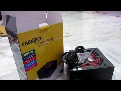 Frontech 800W SMPS JIL - 2430, Specifications & Connectors review (Gaming SMPS)