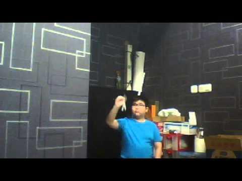 my cardboard returning boomerang (i will make the tutorial soon)
