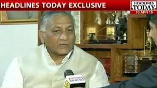 General V. K. Singh Rescues 5 Year Old Baby In Yemen Rescue Mission