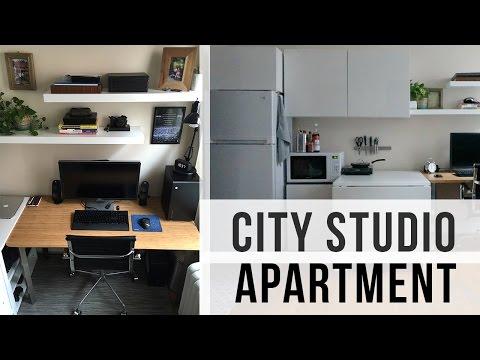 City Studio Apartment Tour (240 sq. feet - $500 rent)