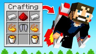 MAKING a JETPACK in Minecraft (SkyFactory)