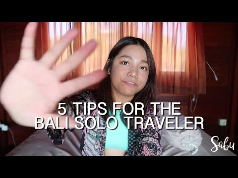Filipina's First Solo Travel: Bali (Vlog and Travel Tips)
