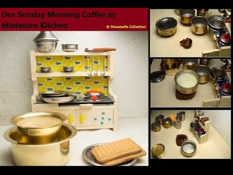 Coffee in Kids kitchen