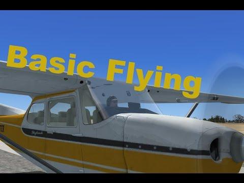 FSX Basics. Part 1, Basic Flying