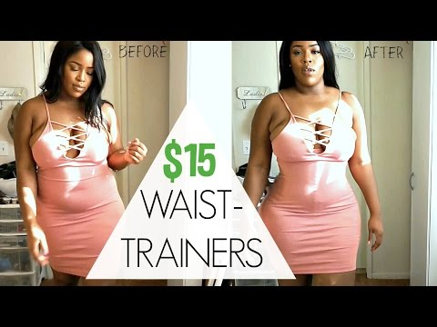 CHEAP SHAPE WEAR CORSET TRY ON | MELODY GIRL CORSETS