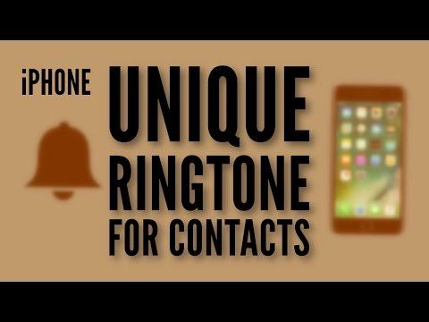 Assign unique Ringtone to Contacts on iPhone (Easily!) - 2017