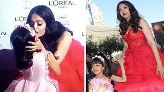 Aishwarya Rai With Daughter Aaradhya Bachchan CUTE Moments In Public