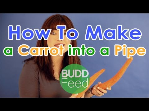 How to Make a Carrot into a Pipe