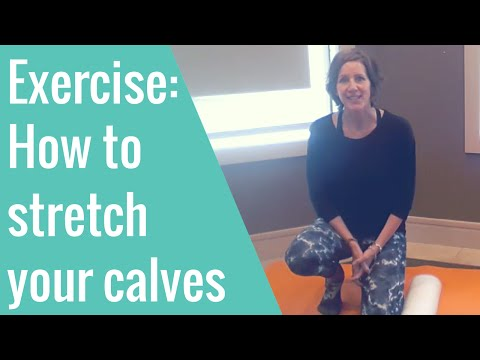 How to stretch your calf muscles