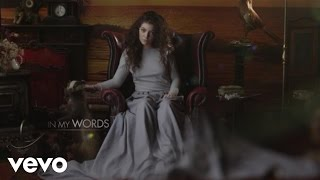 Lorde - In My Words (VEVO LIFT UK)