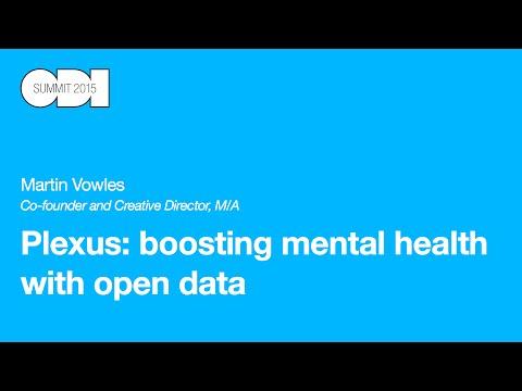 Plexus: boosting mental health with open data: Martin Vowles - ODI Summit 2015