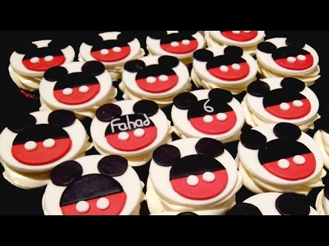 Micky Mouse cupcakes TUTORIAL