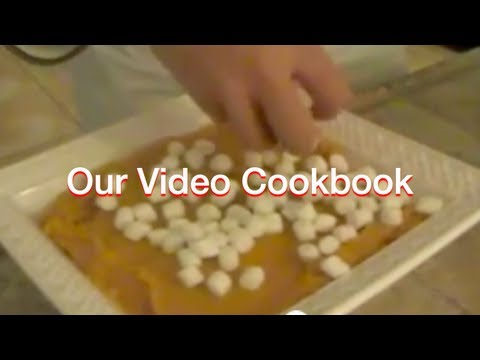 Sweet Potato - Casserole with marshmallows Recipe